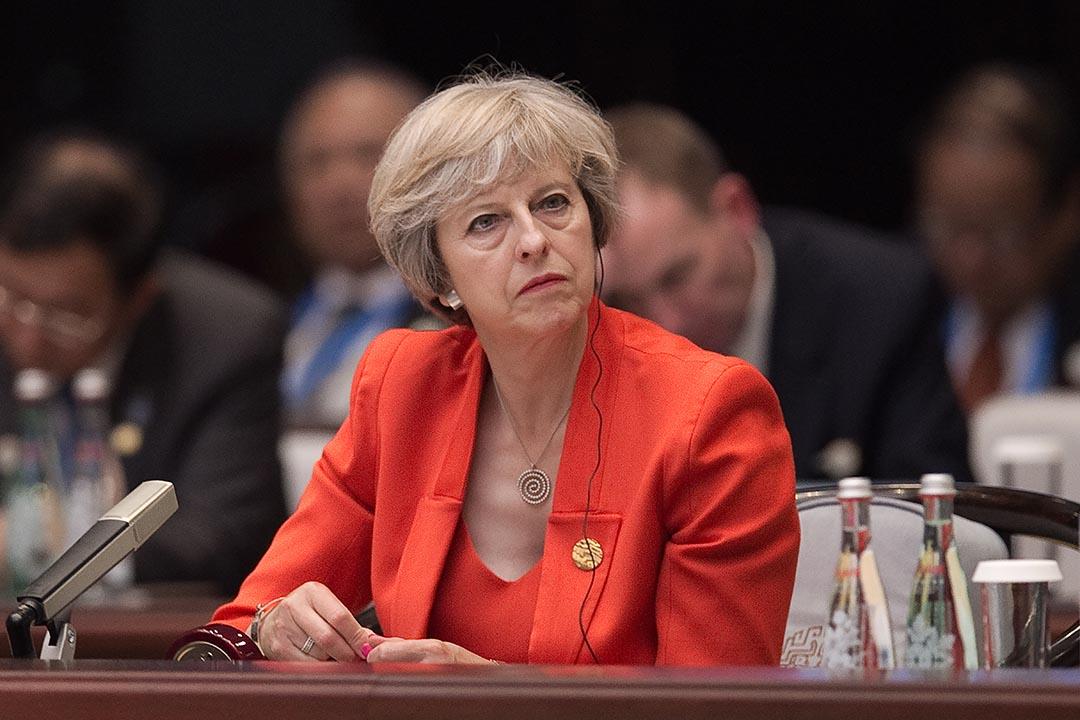英國首相特蕾莎出席G20高峰會。