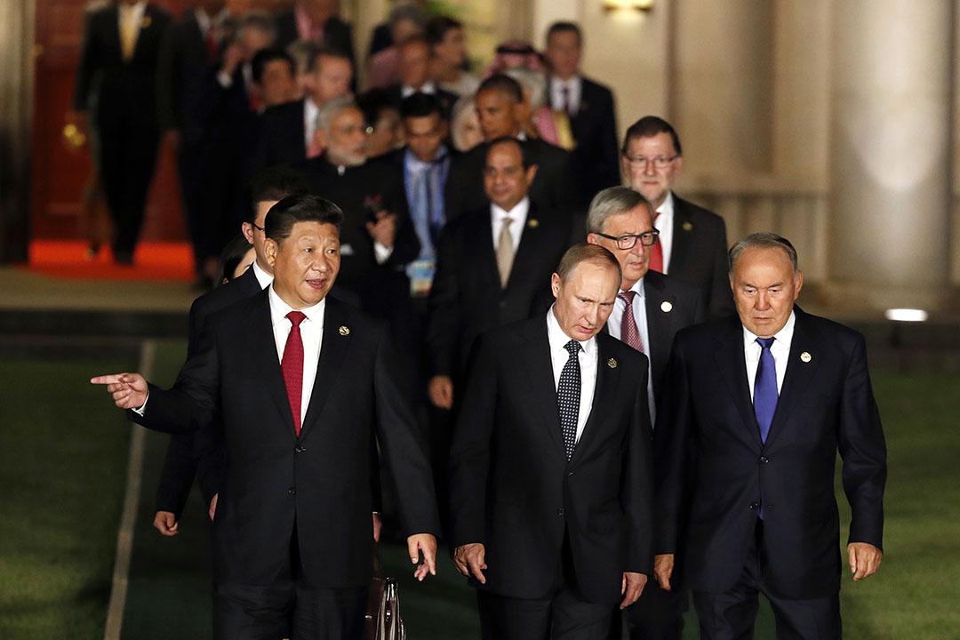 2016年9月4日,G20杭州峰会在主场馆杭州国际博览中心举行。