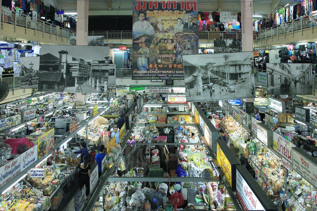 瓦洛洛市場。