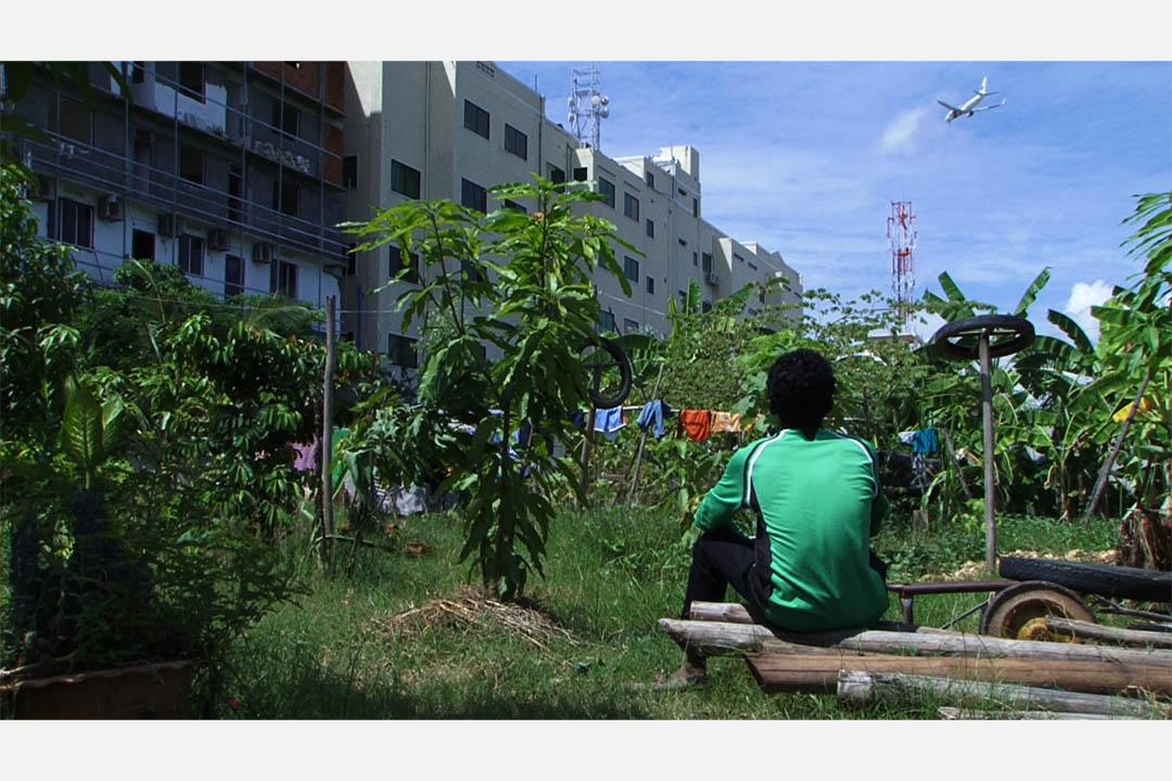 Neang Kavich 的作品《何處是我柬埔寨的家》。