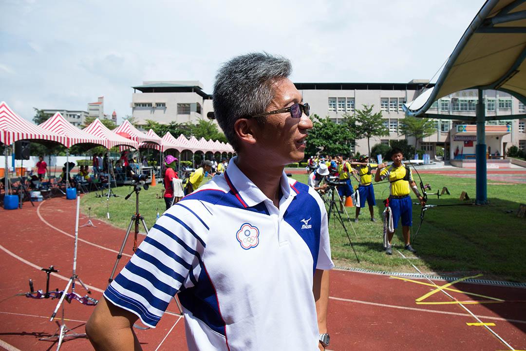 富禮射箭隊由倪大智教練一手創立,這面銅牌,他足足花了12年打造。