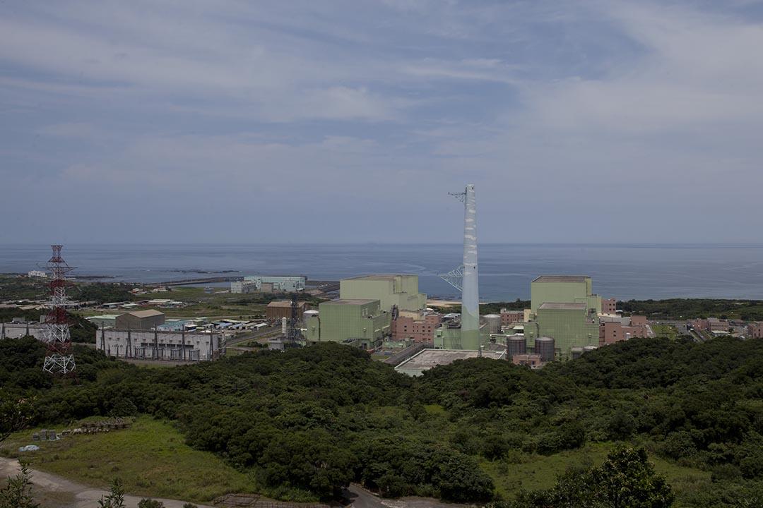 圖為台灣新北市的龍門核能發電廠。