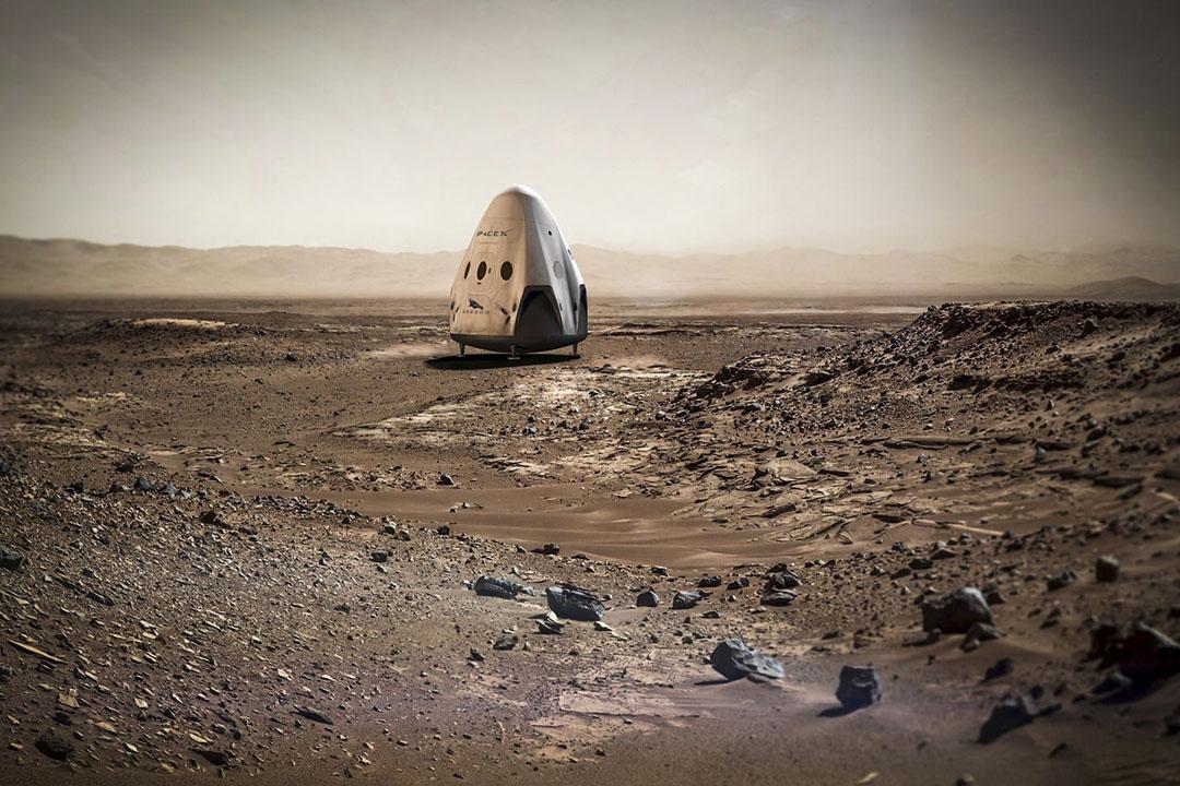 美國太空探索公司SpaceX公布殖民火星計劃。