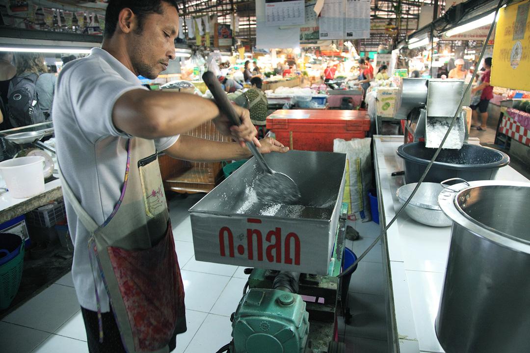 Ruam Chok Market明亮乾淨,和清邁其他傳統市場不大相同。
