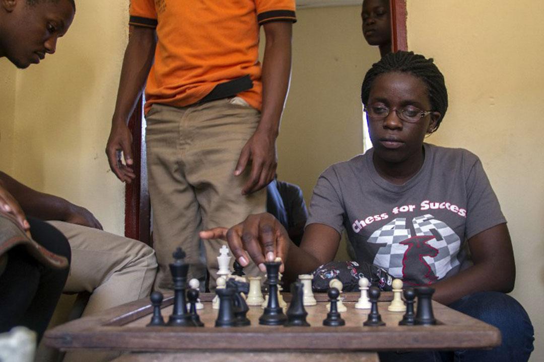 烏干達國際象棋天才Phiona Mutesi。
