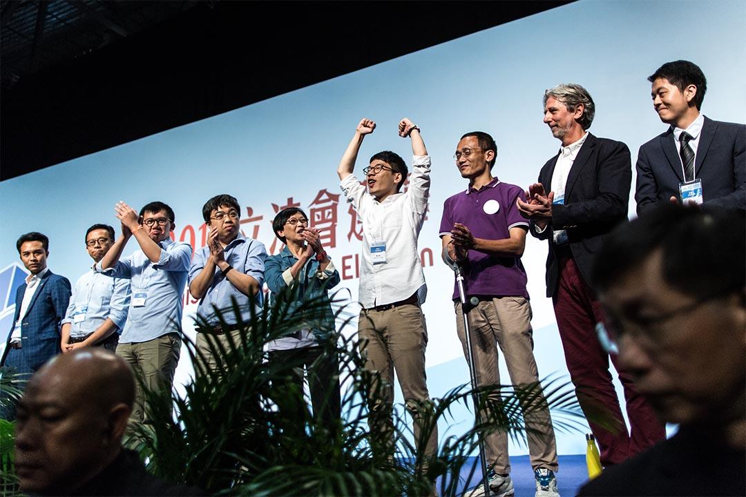 2016年9月5日,立法會選舉公布結果,羅冠聰當選成為來屆港島區立法會議員。