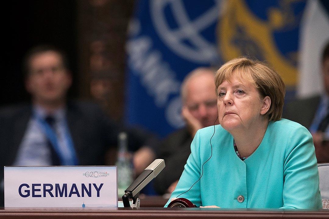 德國德總理默克爾政黨在東部地方選舉中受挫。