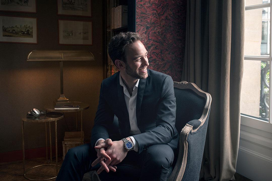 瑞士作家Joël Dicker。