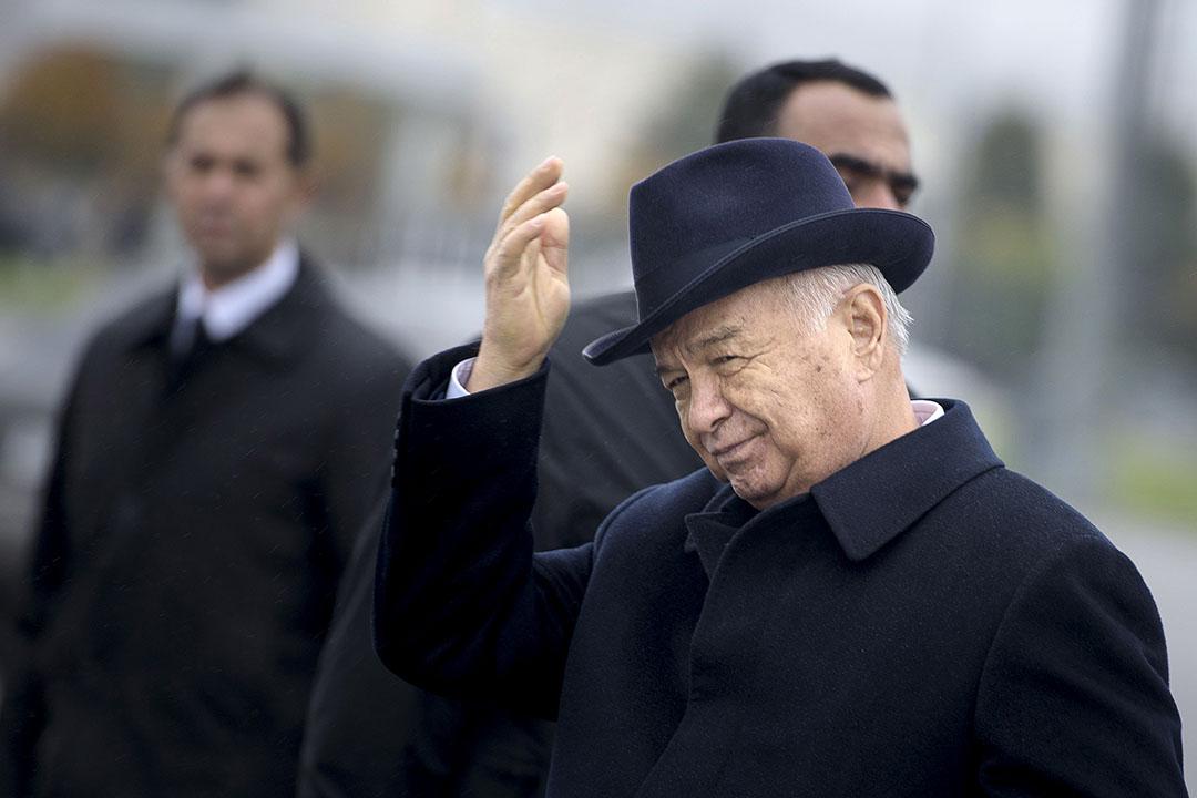 烏玆別克總統卡里莫夫(Islam Karimov)。