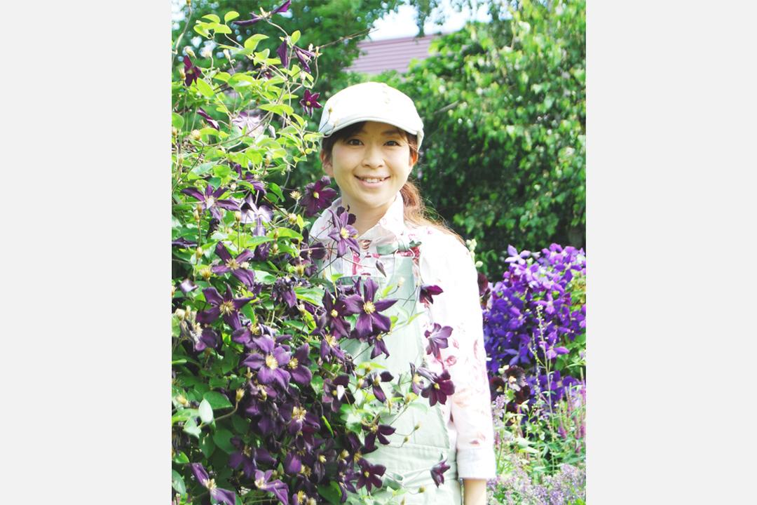 園藝家上野砂由紀。