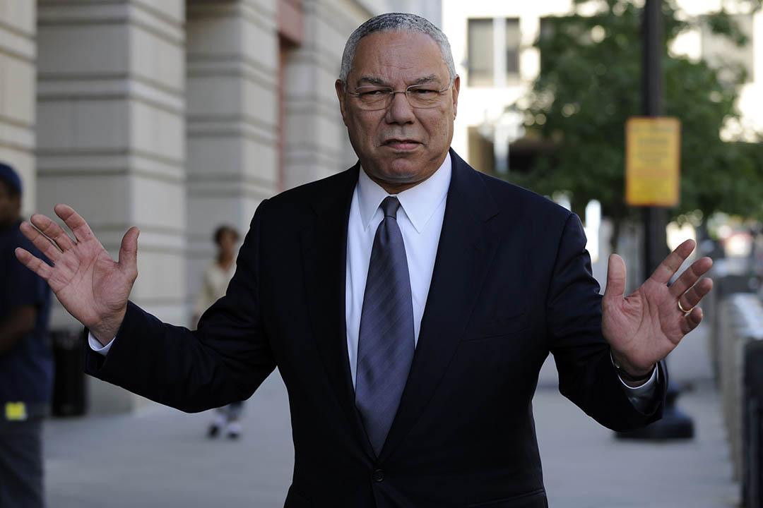 美國前國務卿鮑威爾(Colin Powell)。