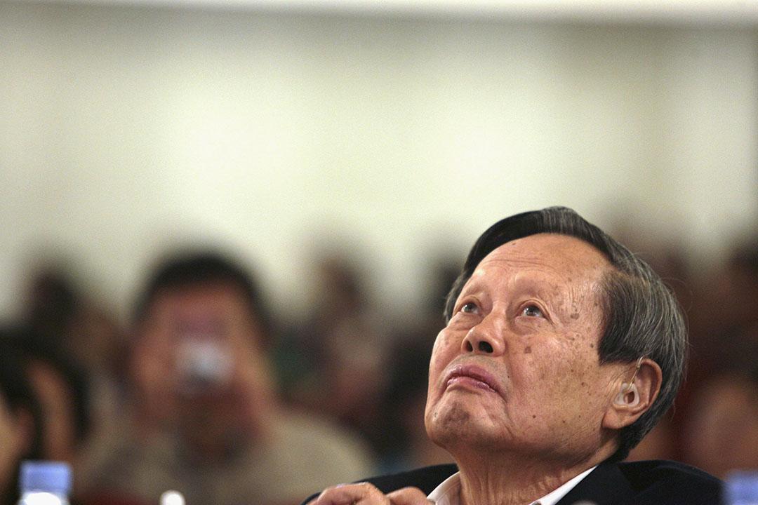 諾貝爾獎得主,物理學家楊振寧。