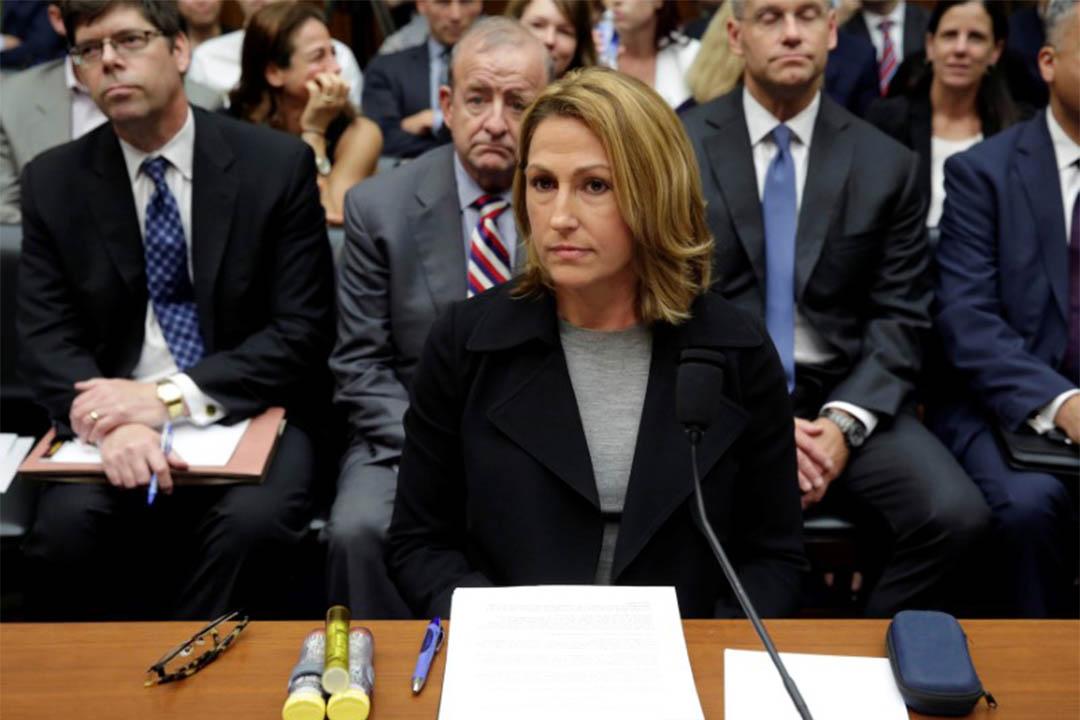 2016年9月21日,美國華盛頓,Mylan首席執行官就Epipan藥價幾年內飆漲接受質詢。