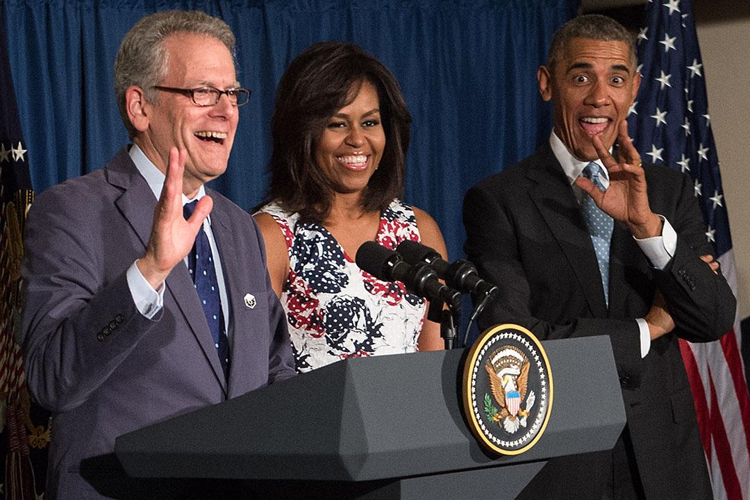 美國總統奧巴馬宣布提名戴羅倫提斯(Jeffery DeLaurentis)出任的美國駐古巴大使。圖為2016年3月奧巴馬出訪古巴。