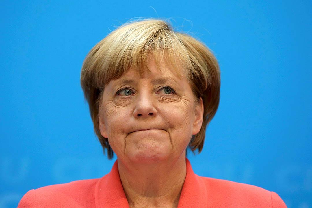 德國總理默克爾。