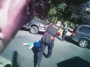 夏洛特市警方公佈視頻截圖。