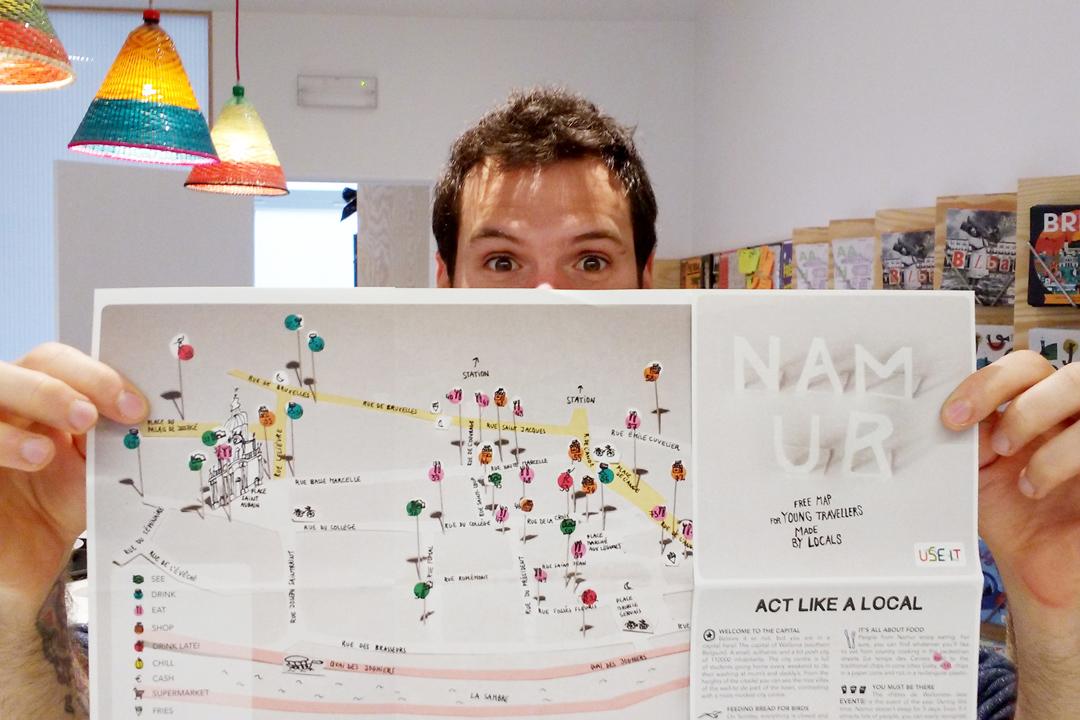 USE-IT製作的地圖,就像一個你的當地朋友。