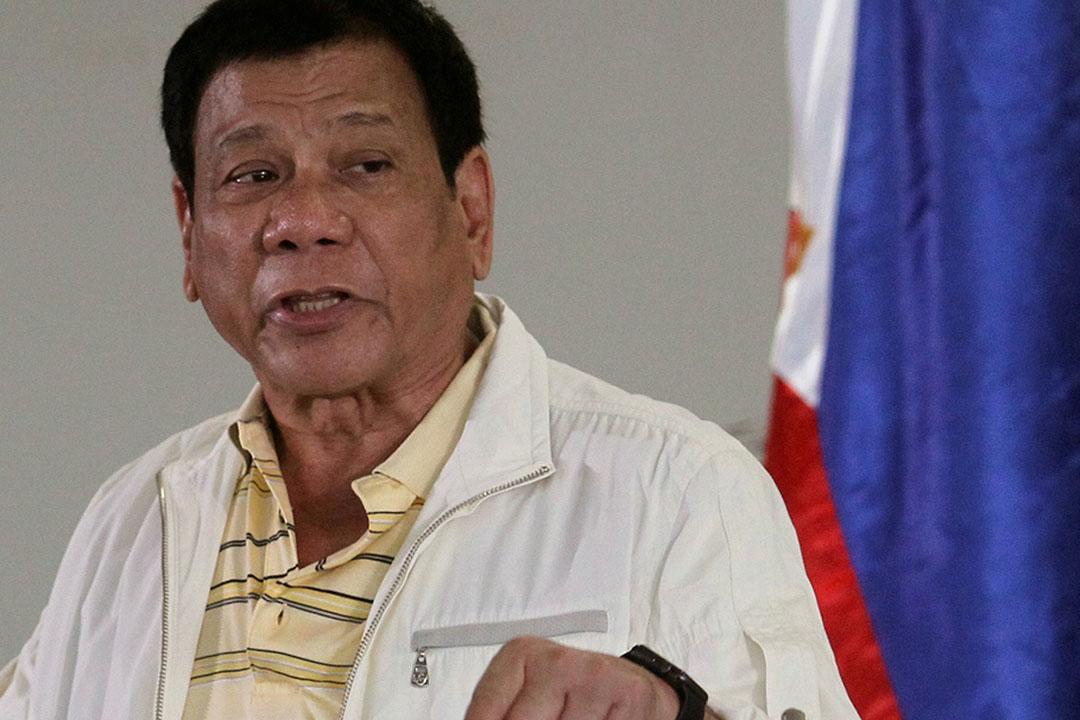 菲律賓總統杜特爾特(Rodrigo Duterte)。