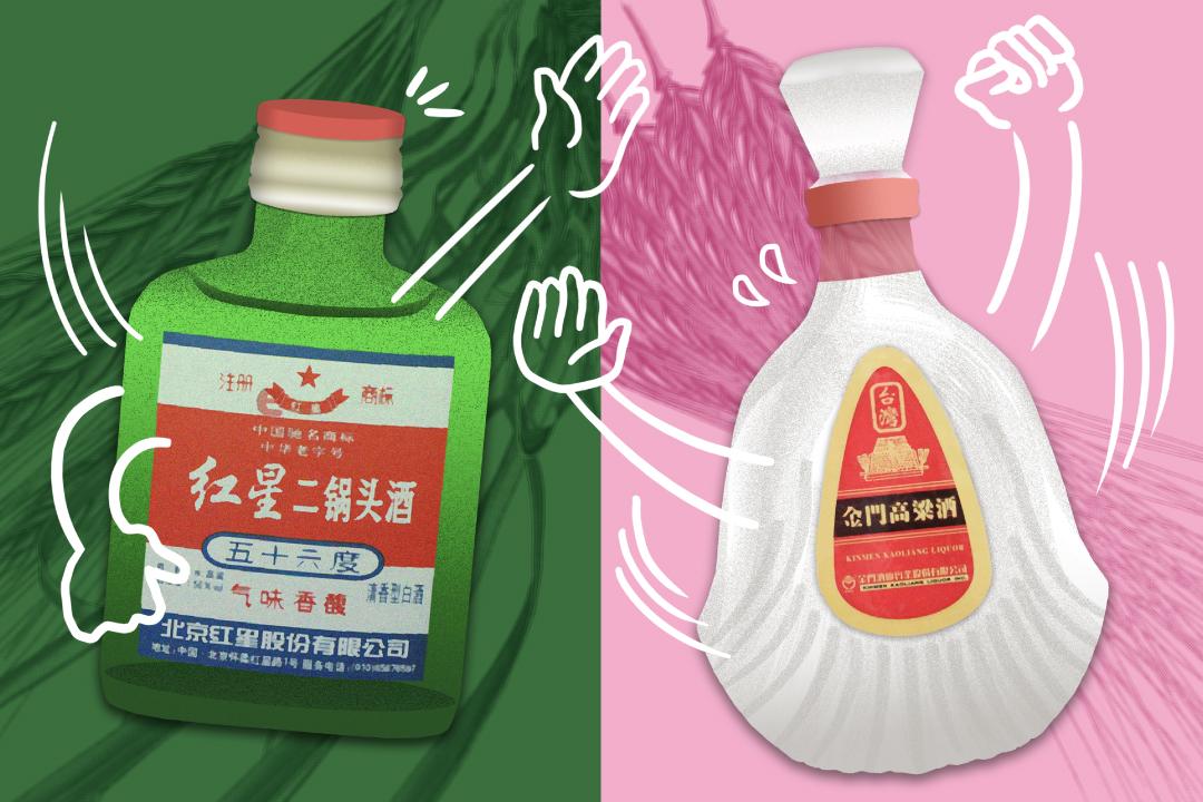 中國的紅星二鍋頭與台灣的金門高粱,將打一場橫跨兩岸的白酒戰。