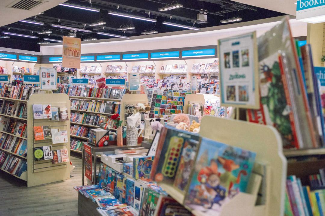 位於灣仔的獨立書店「Booktique」。