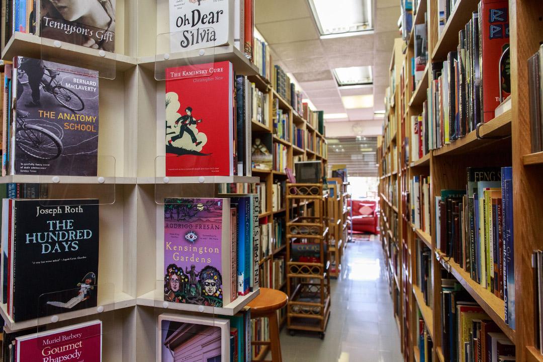 位於梅窩的二手英文書店「Imprint」。