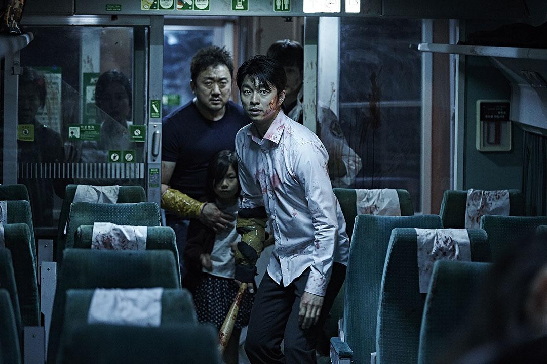 《屍殺列車》劇照。