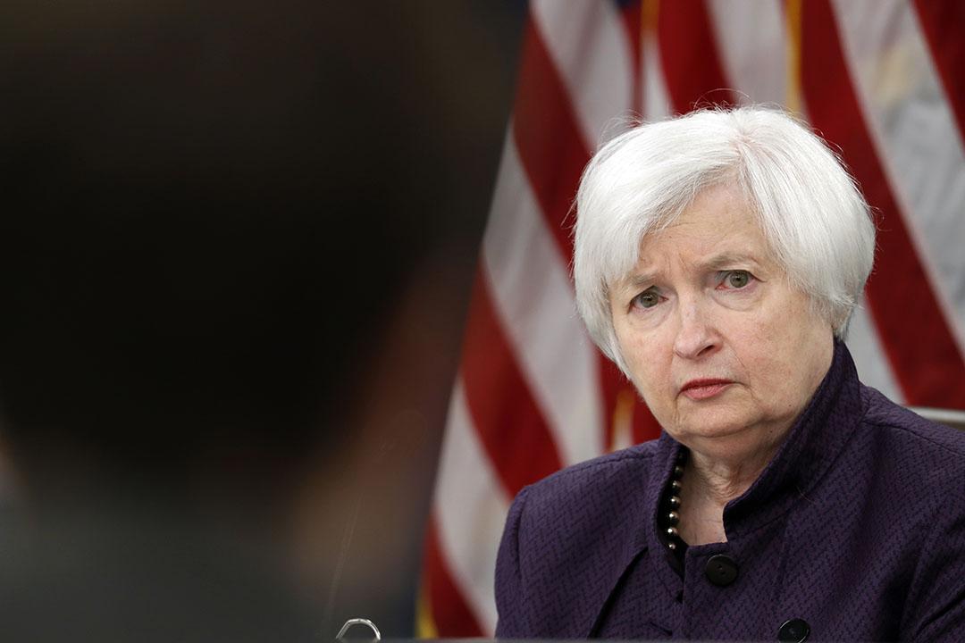 美國聯邦儲備局主席耶倫(Janet Yellen)。