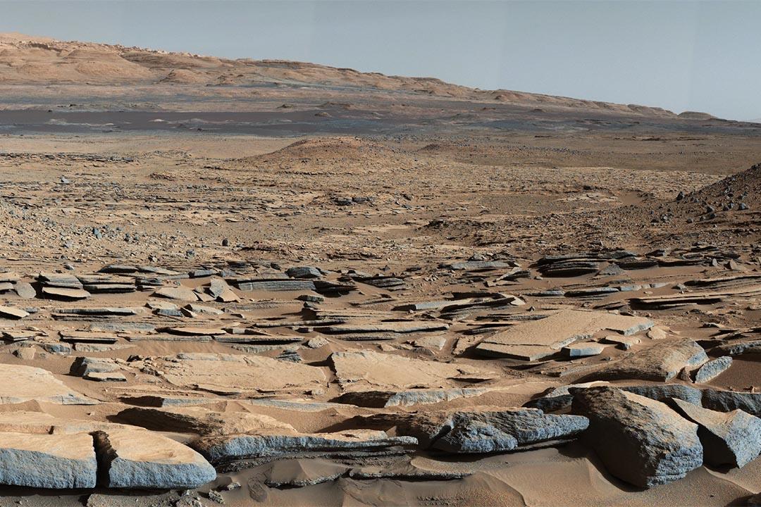 美國太空總署較早前確認了火星上有古老湖泊。