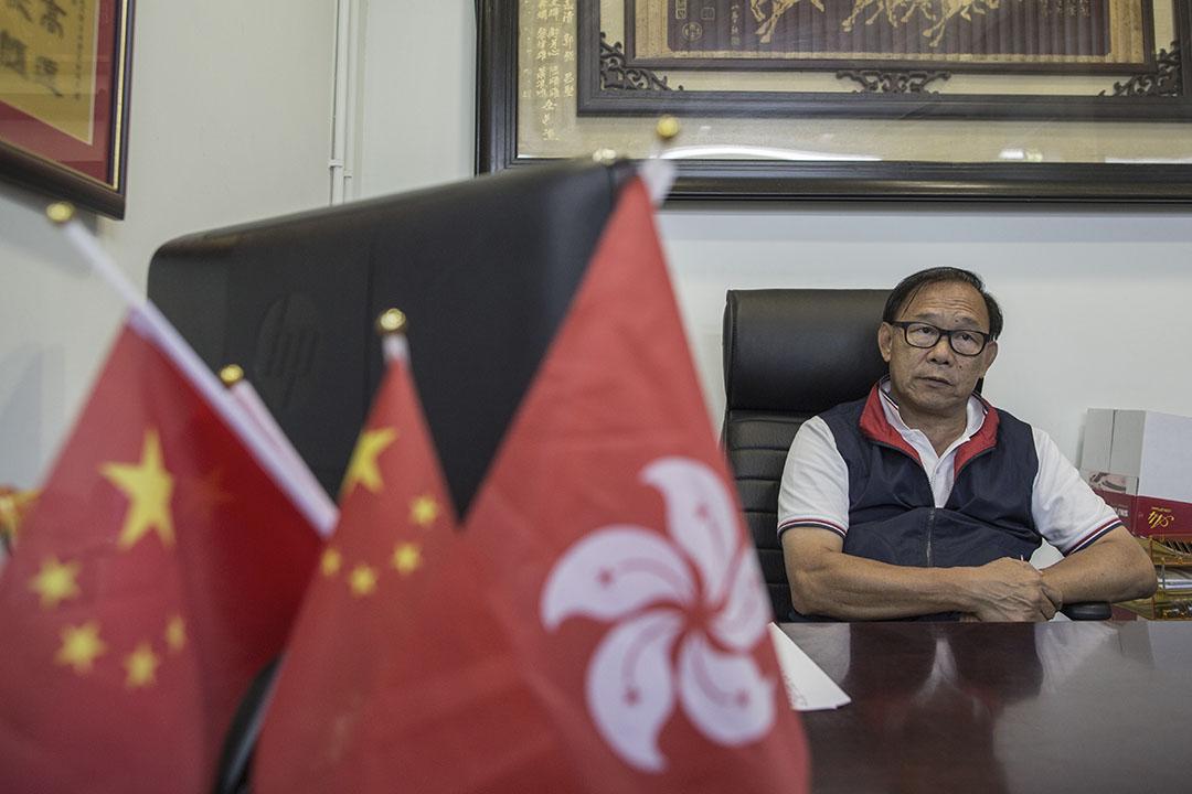 候任新界西立法會議員梁志祥。