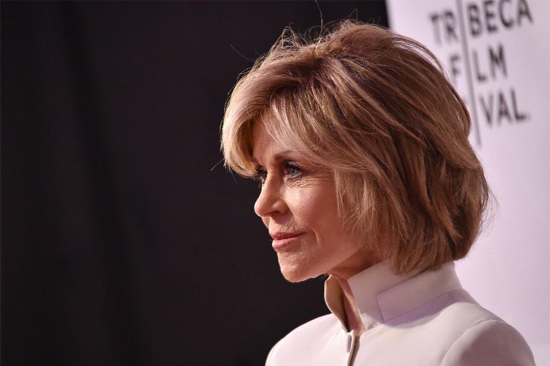 2016年4月13日,美國紐約,珍芳達出席一個電影節的開幕禮。