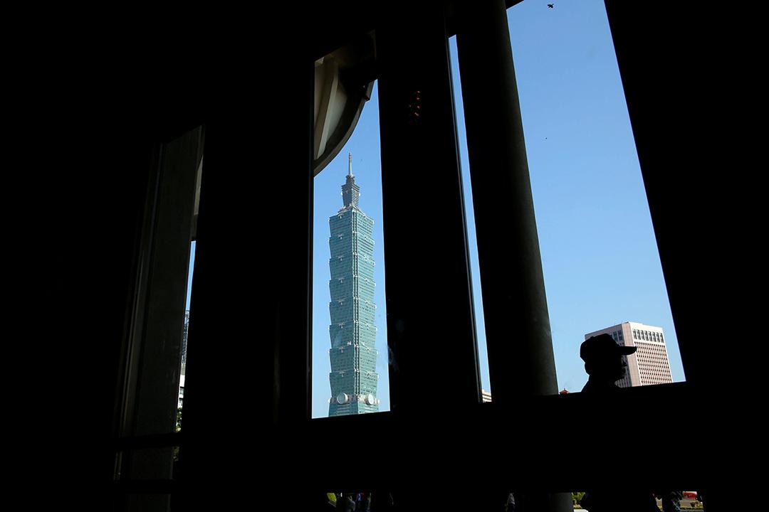 台北地標101大樓。
