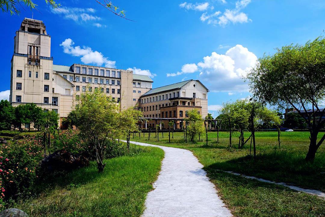 東華大學校景。