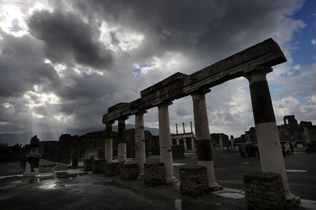 意大利南部那不勒斯龐貝城。