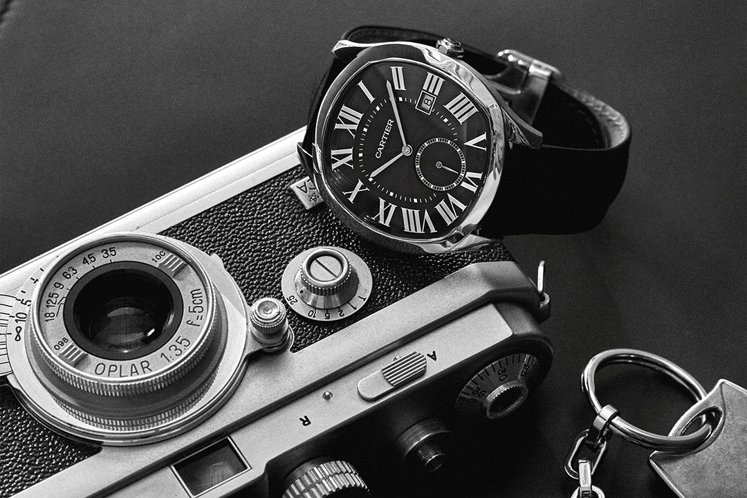 Drive de Cartier 腕錶。