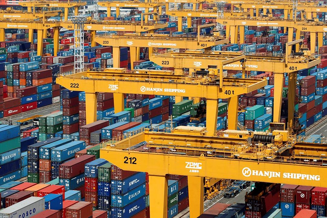 南韓最大航運公司-韓進海運(Hanjin Shipping)正式尋求破產。