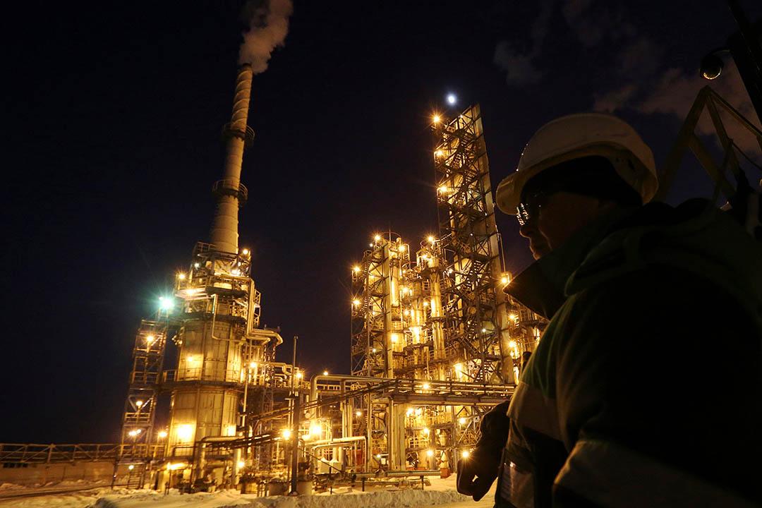 圖為俄羅斯烏法一間煉油廠。