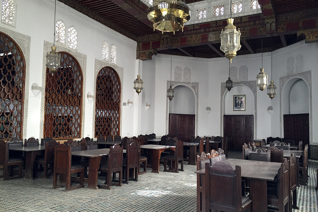已有 12 個世紀歷史的卡魯因大學圖書館(al-Qarawiyyin Library)。