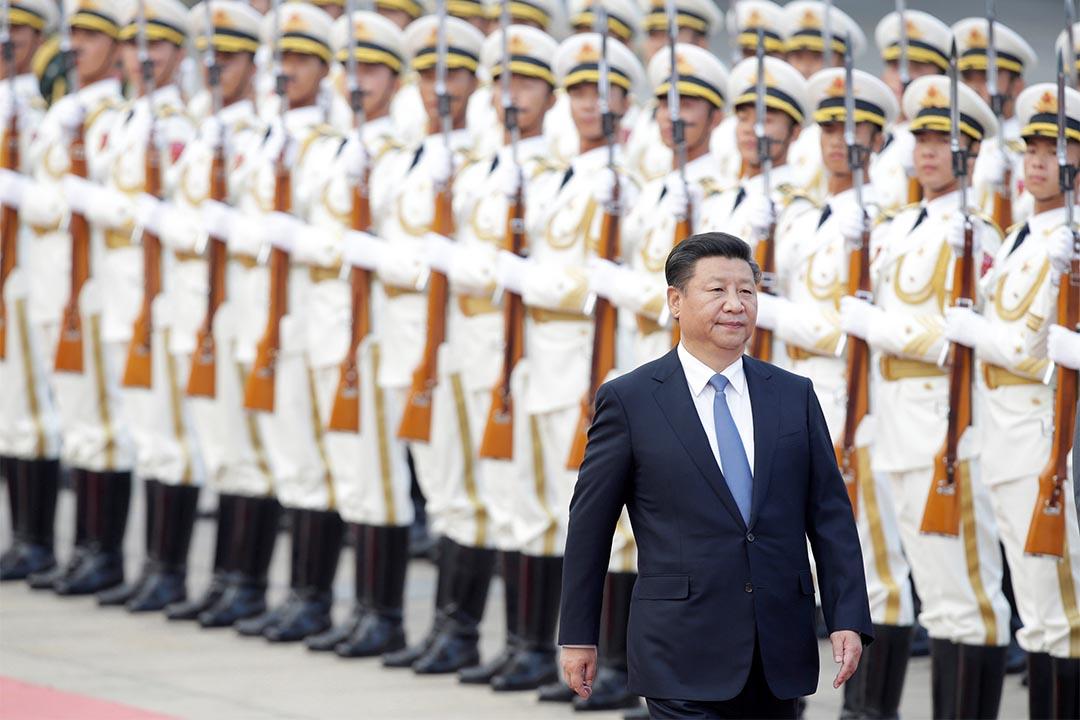 無界新聞「倒習信」事件被捕者全釋放。圖為2016年9月13日,中國國家主席習近平在人民大會堂接見秘魯總統。