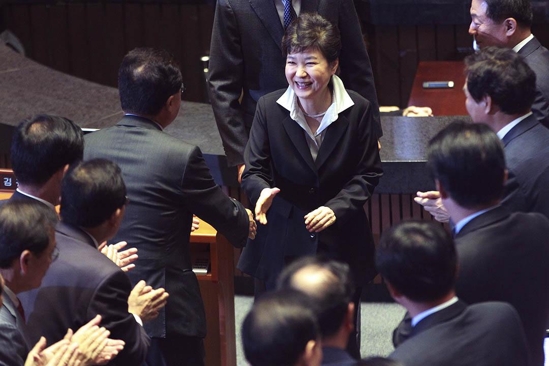 南韓總統朴槿惠計劃修憲改變總統任期限制 。