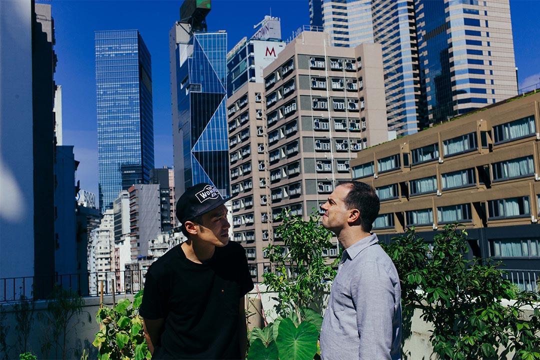 黃裕邦 (Nicholas Wong)、柯夏智 (Lucas Klein)。