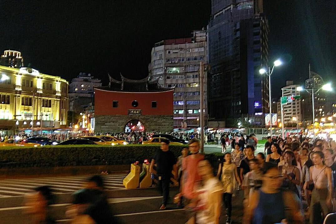 台北北門。