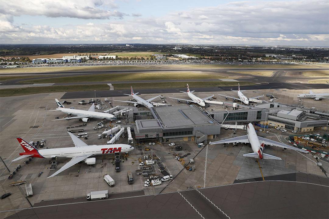 英國政府同意倫敦希思羅機場興建第三條跑道。