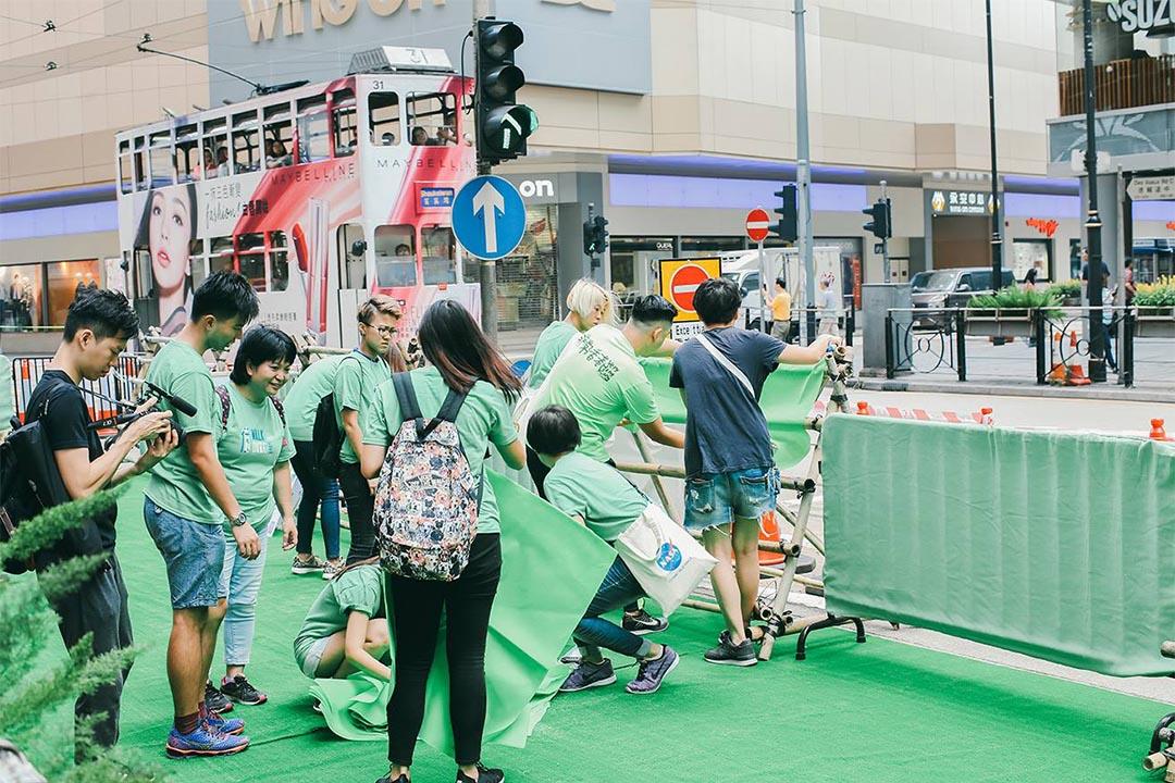 2016年「非常()德」行動成功推動為期六小時的公共空間實驗,作為推動改善空氣污染、紓緩交通擠塞、顛覆以車為本城市規劃的在地試驗。