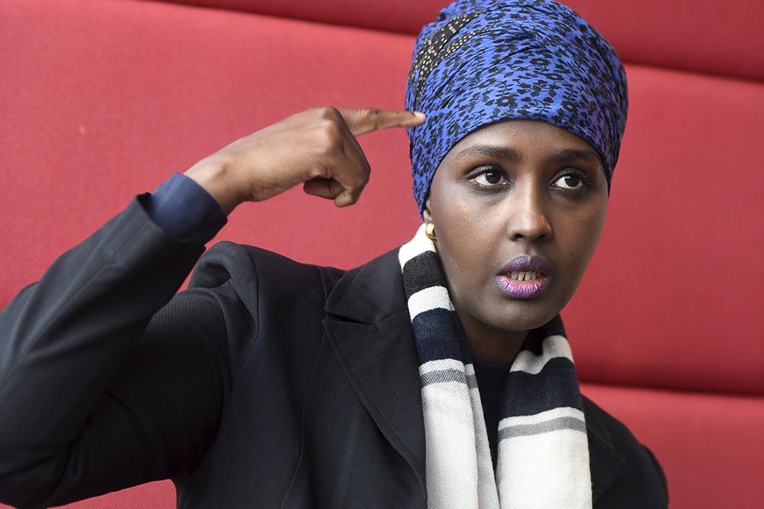 索馬里難民Fadumo Dayib。