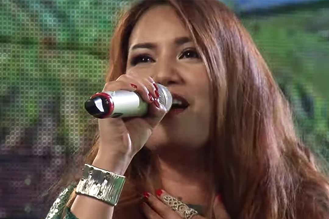 贏得「越南偶像」(Vietnam Idol) 頭銜的菲律賓人Janice Buco。