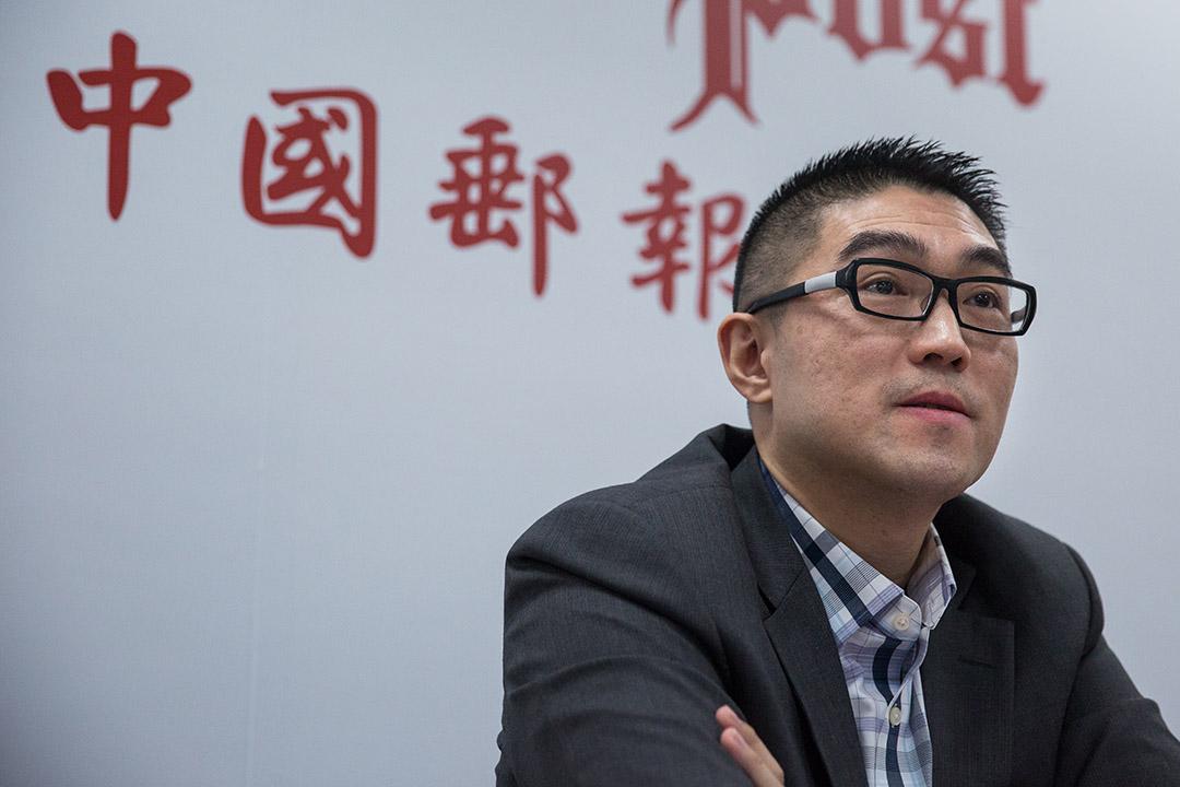 謝國樑召開記者會,澄清與《鏡週刊》的關係。
