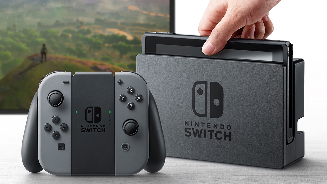 任天堂(nintendo)發布新主機Nintendo Switch。
