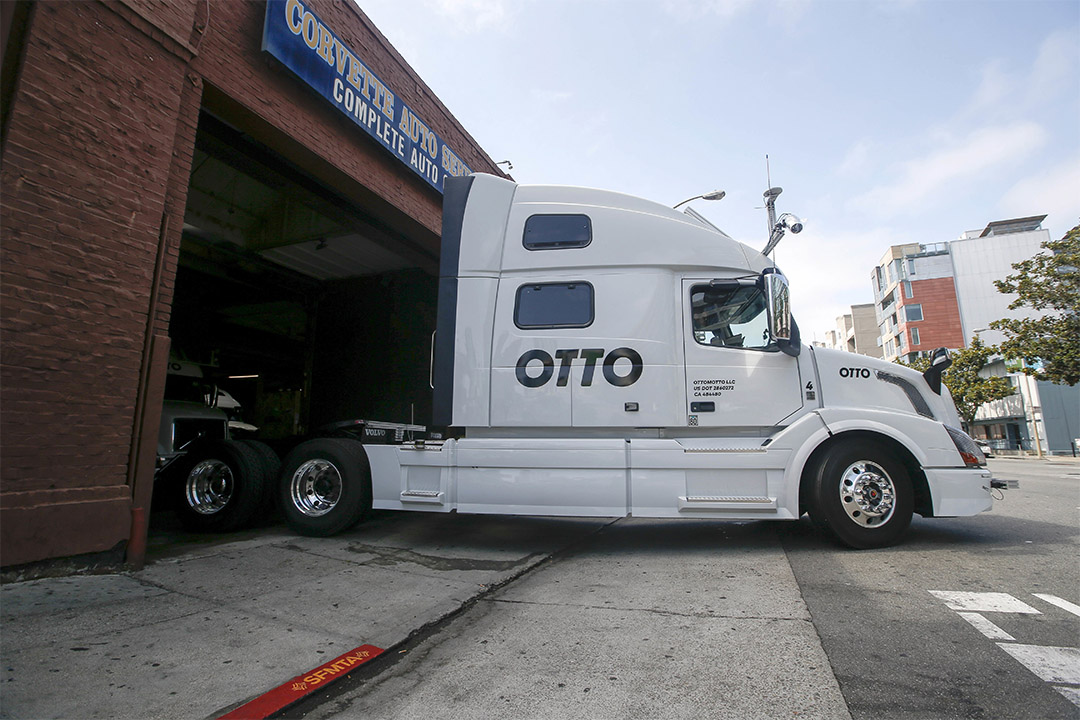 Uber旗下Otto自動駕駛卡車完成首次商業貨運。