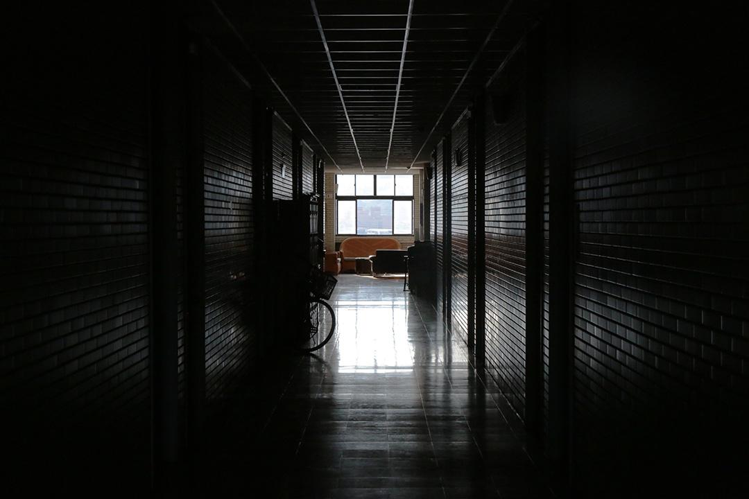 輔大心理系走廊。