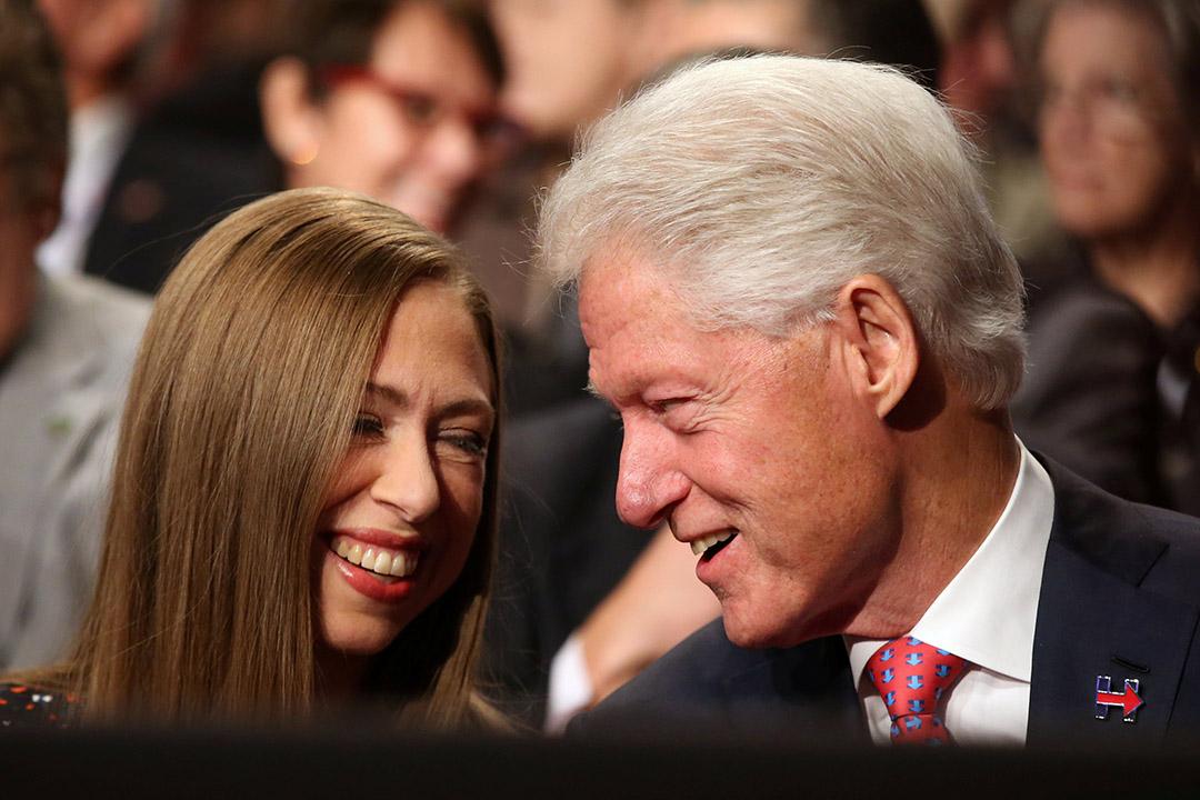 希拉莉丈夫、前總統克林頓(Bill Clinton)。